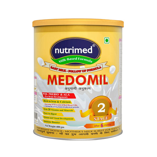 Medomil Stage 2 Infant Milk Formula (6-12 months) - 400gm