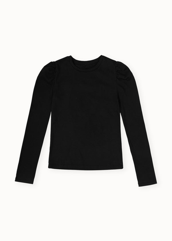 ANNA LONGSLEEVE TOP | BLACK