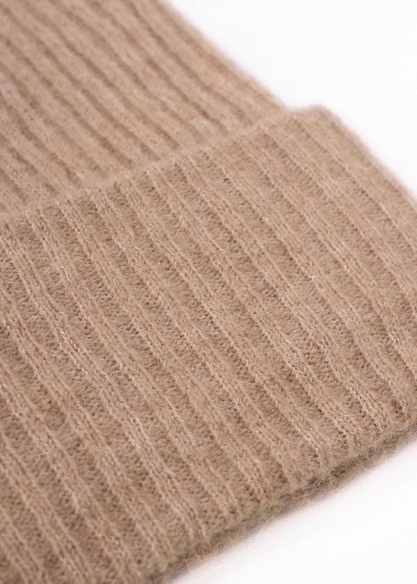 WOOL BEANIE | NATURAL