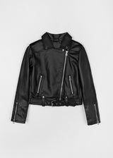 BEAT BIKER JACKET | BLACK