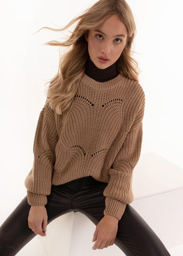BENITA KNIT| NATURAL