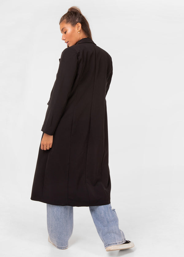 BLAZER COAT | BLACK