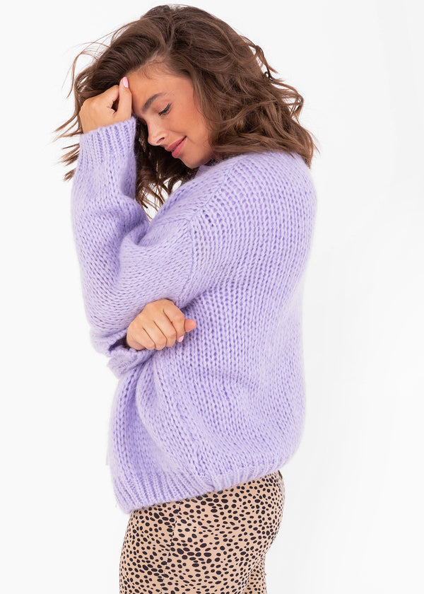 BOBBI KNIT | LILAC