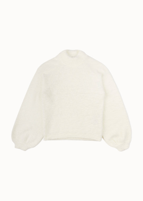 COZY KNIT | WHITE