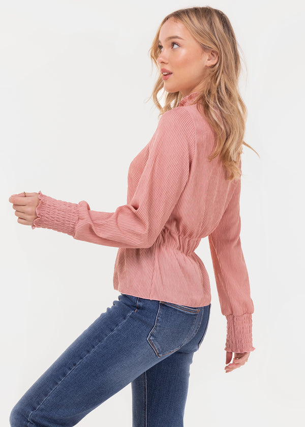 CRINKLE TOP | ROSE