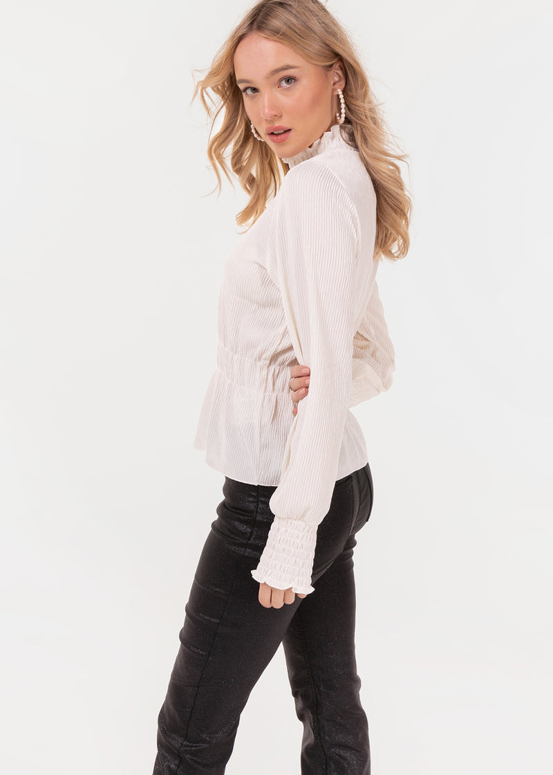 CRINKLE TOP | WHITE