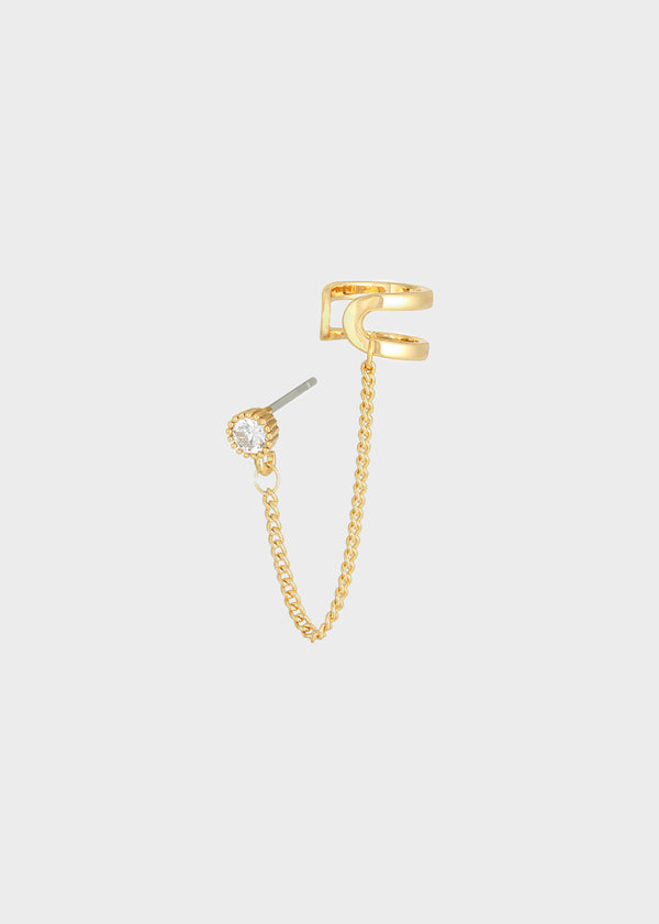 EARCUFF CHAIN | GOLD