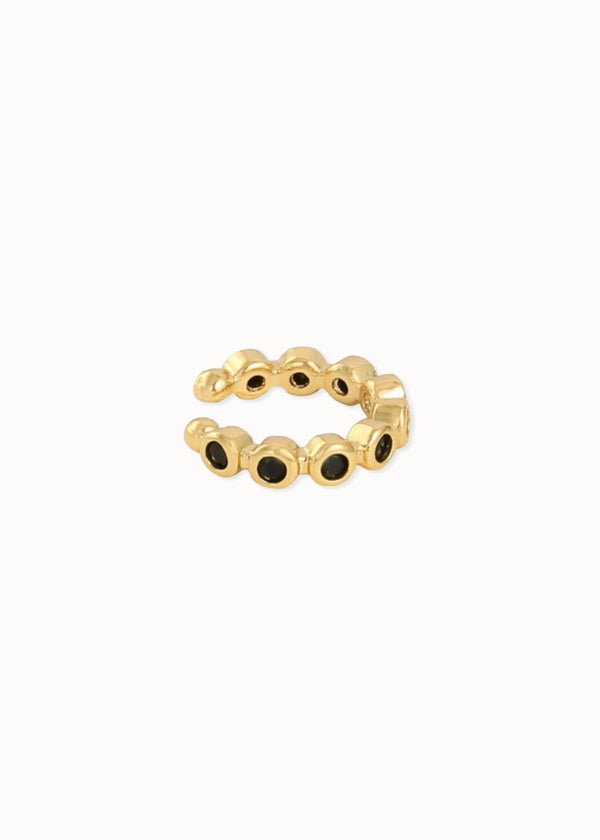 EARCUFF BLACK & GOLD