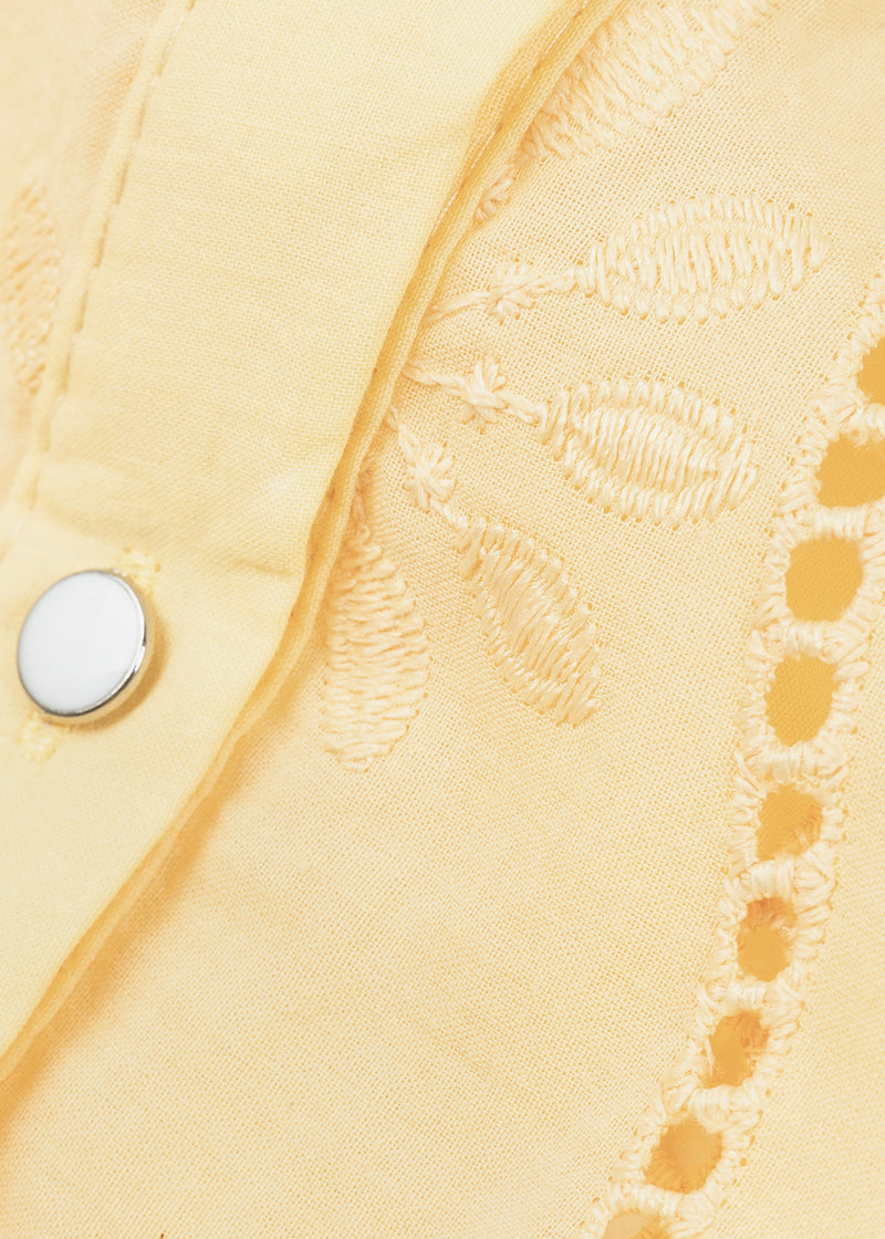EVIS TOP | SOFT YELLOW