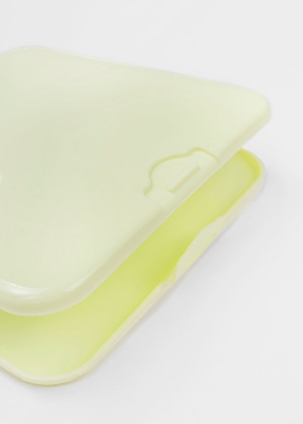 FACE MASK CASE | LIME GREEN