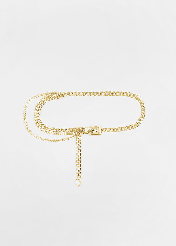 FOWO CHAIN BELT | GOLD