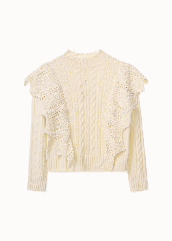 FUNKY KNIT | OFF WHITE