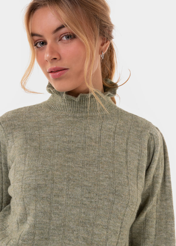 GIA KNIT | OLIVE