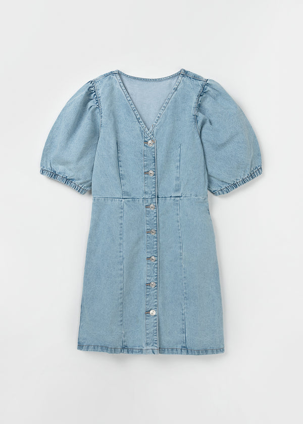 GILI DENIM DRESS
