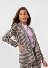 HUGH CHECK BLAZER