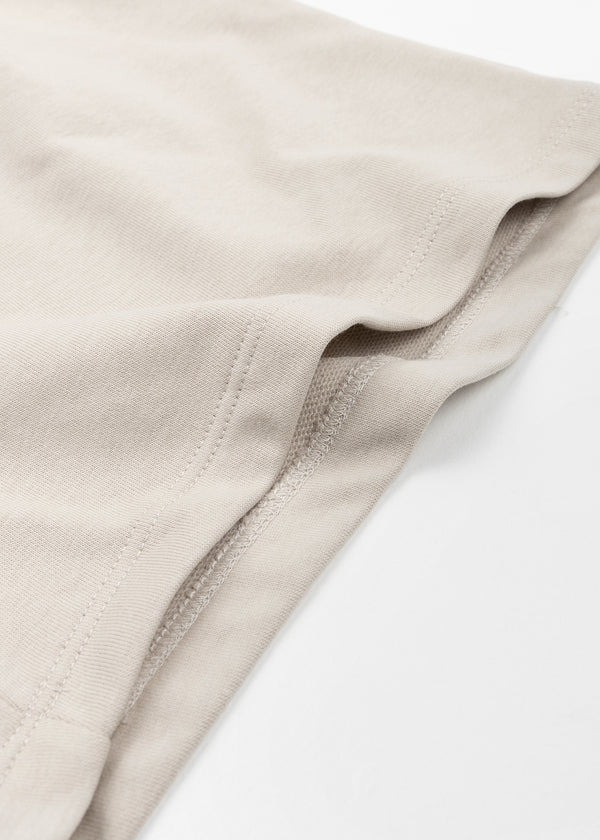 INDI SWEAT SHORT | BEIGE