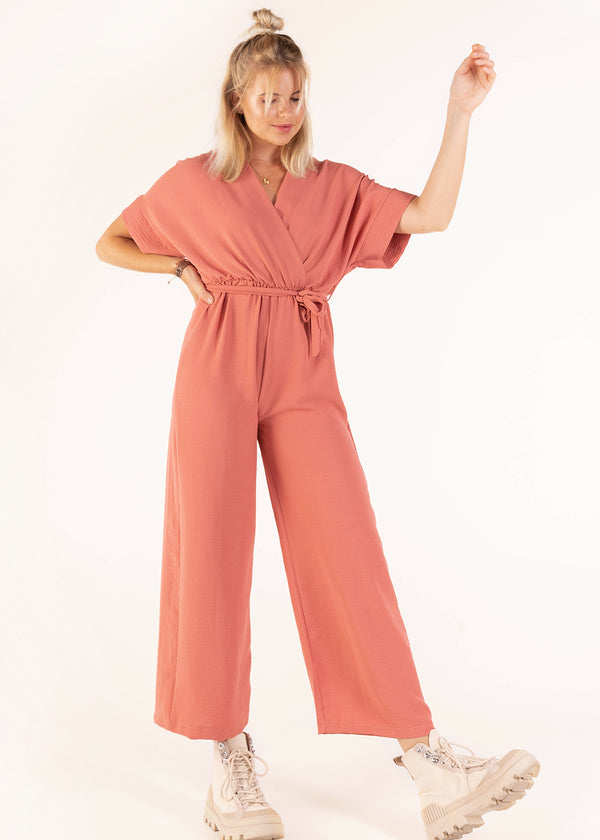 JESSY JUMPSUIT | OLD ROSE