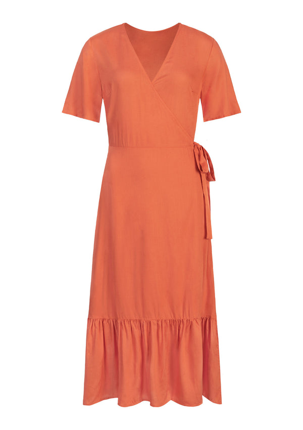 SUNSET MIDI DRESS