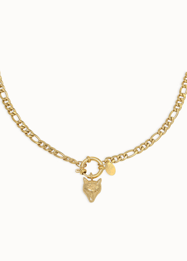 WOLFIE NECKLACE | GOLD