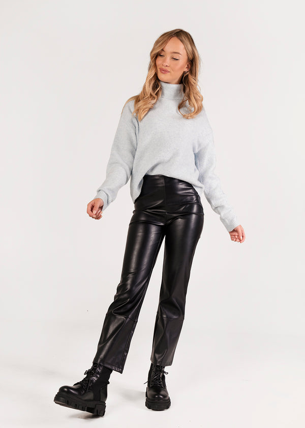 PU LEATHER PANTS