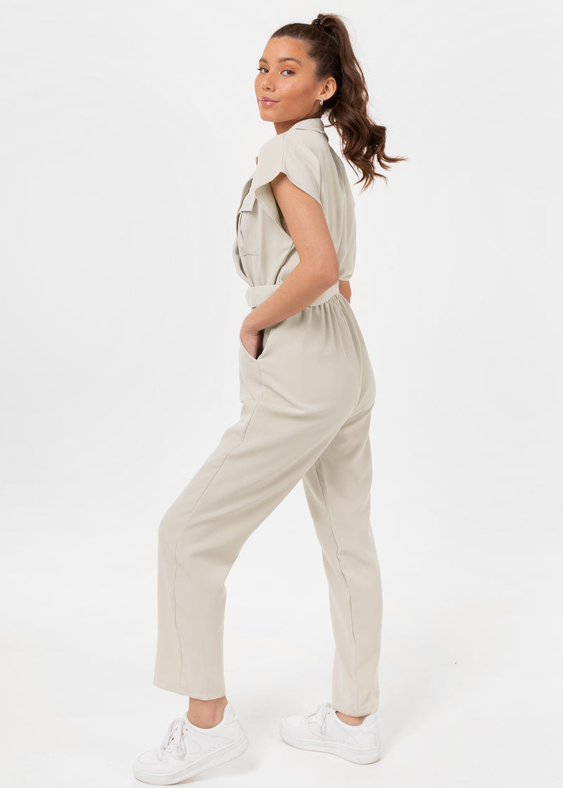 KIMMY JUMPSUIT | SAND