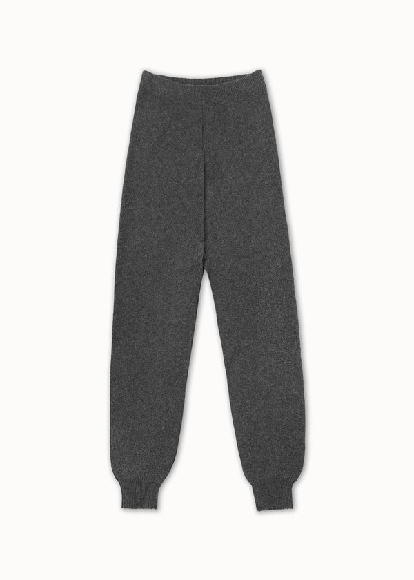 KNIT JOGGERS | DARK GREY