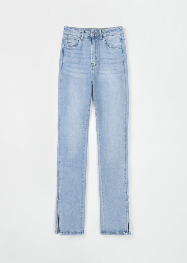 KYRA SPLIT | DENIM