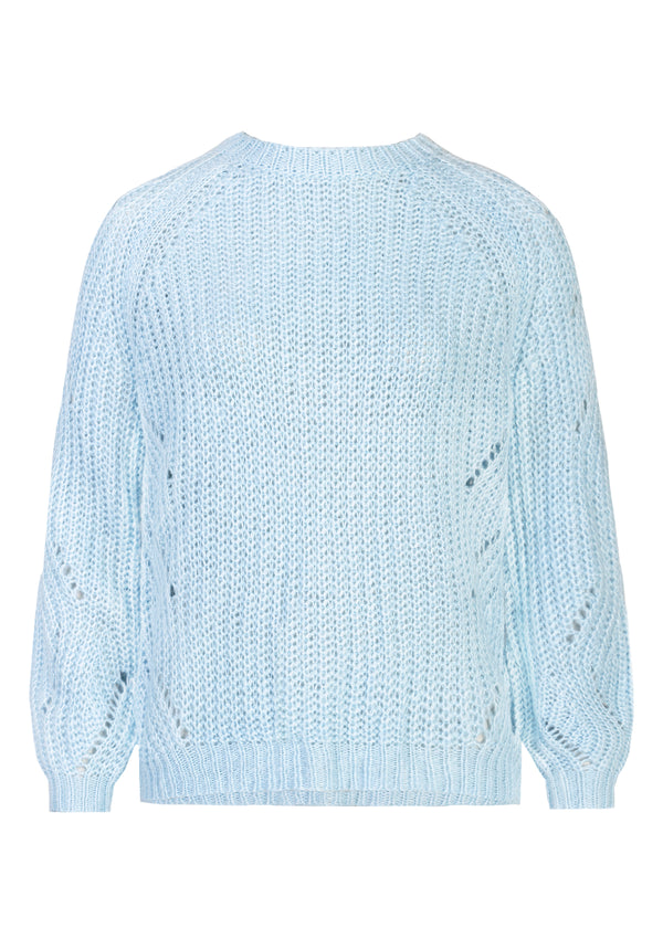 LALA BLUE KNIT