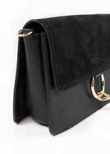 LEATHER FAYE | BLACK