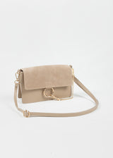 LEATHER FAYE | TAUPE