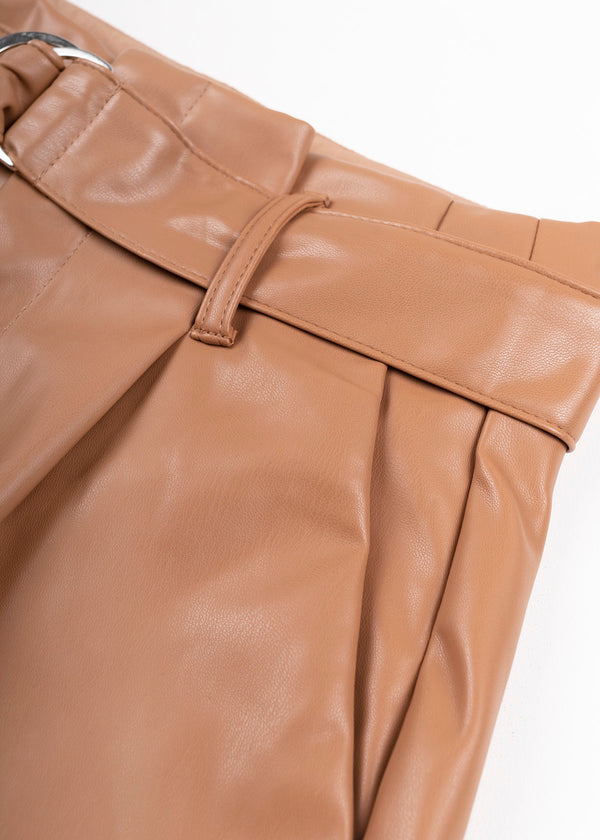 LEATHER PAPERBAG | COCO