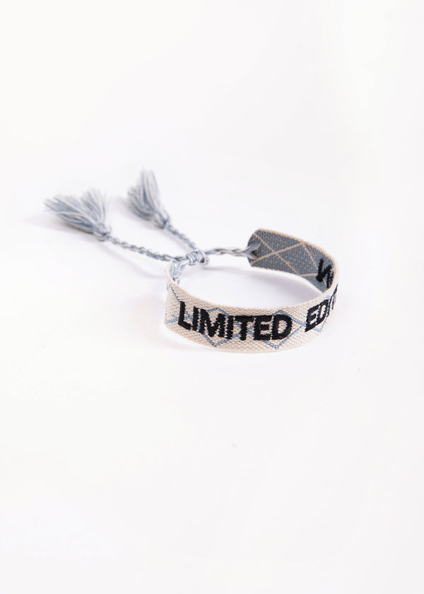 COTTON BRACELET - LIMITED | BEIGE