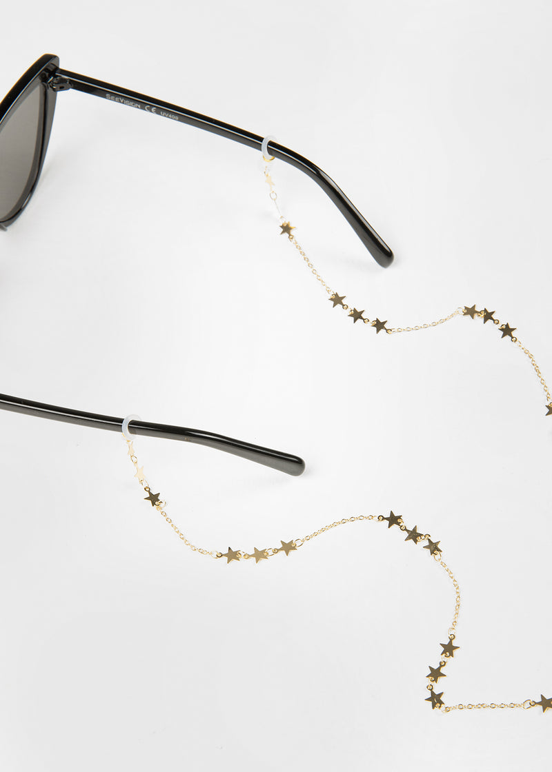 LUCI SUNGLASS CHAIN | GOLD