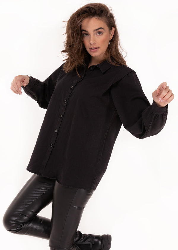 LUNA SHIRT | BLACK