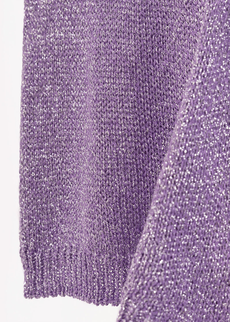 LUREX LILAC WRAP