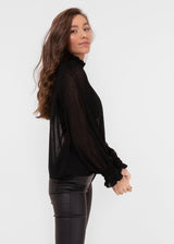 MIDNIGHT SKY TOP | BLACK