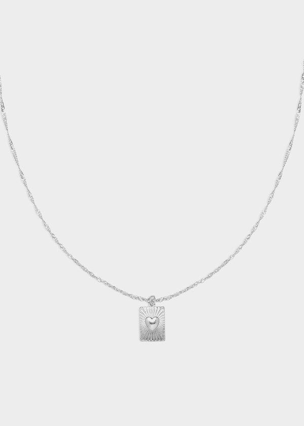 SHOW ME LOVE NECKLACE | SILVER