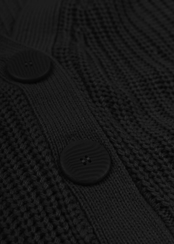 NOLA CARDIGAN | BLACK