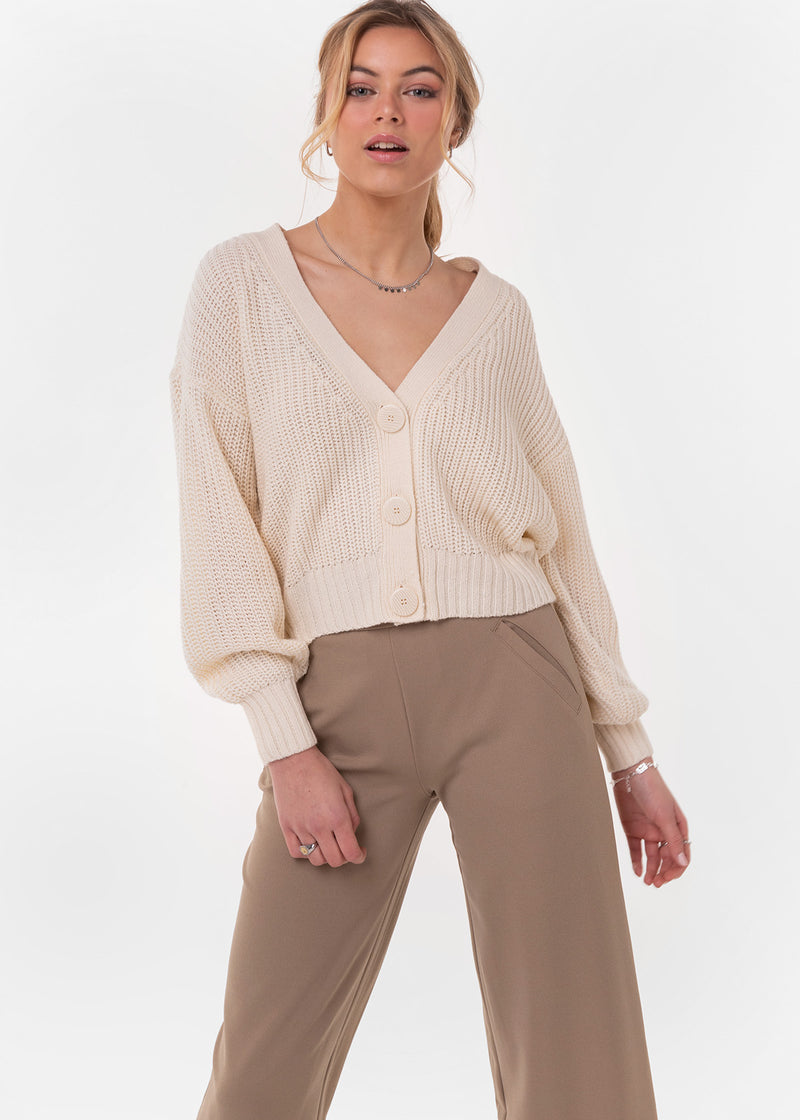 NOLA CARDIGAN | CREAM