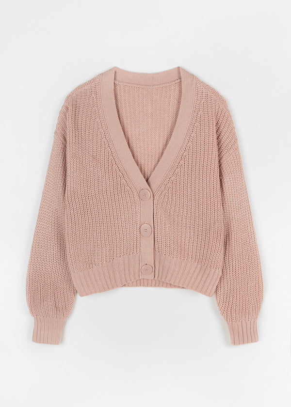NOLA CARDIGAN | OLD ROSE