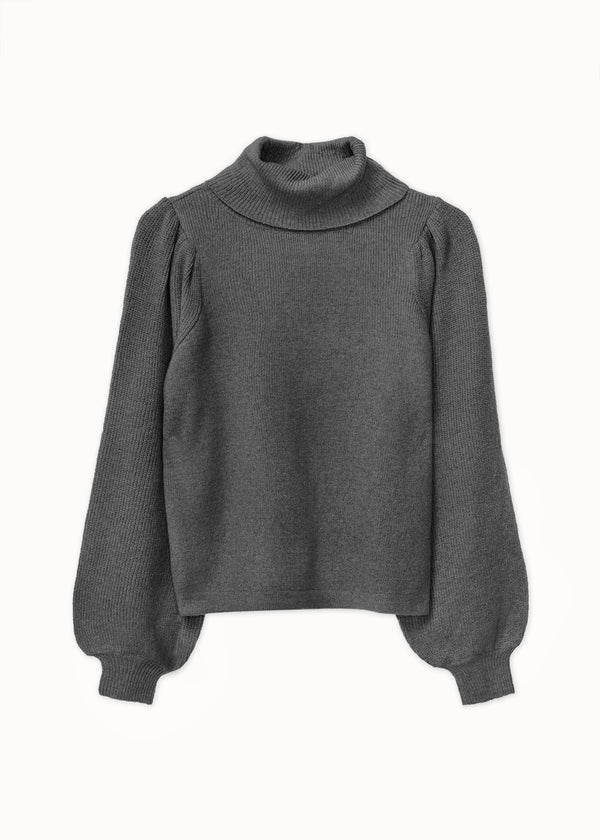 PRETTY KNIT | DARK GREY