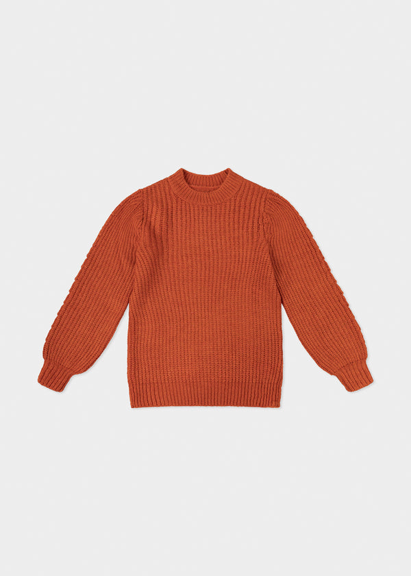 PUFF KNIT | CHERRY TOMATO