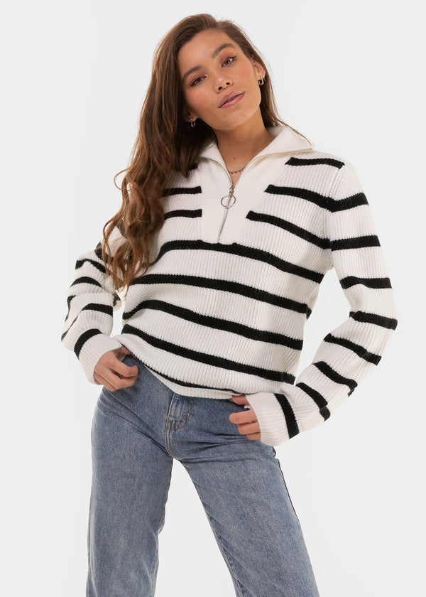 PULL ZIPPER | STRIPES