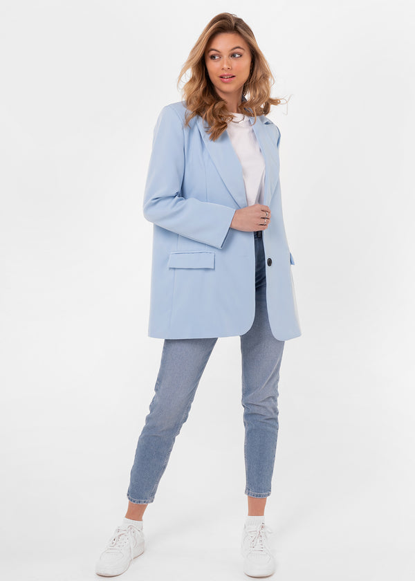 RIKA BLAZER | LIGHT BLUE