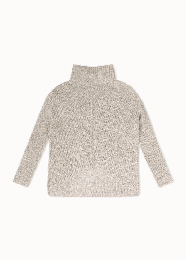 ROLLNECK KNIT | SALTPEPPER