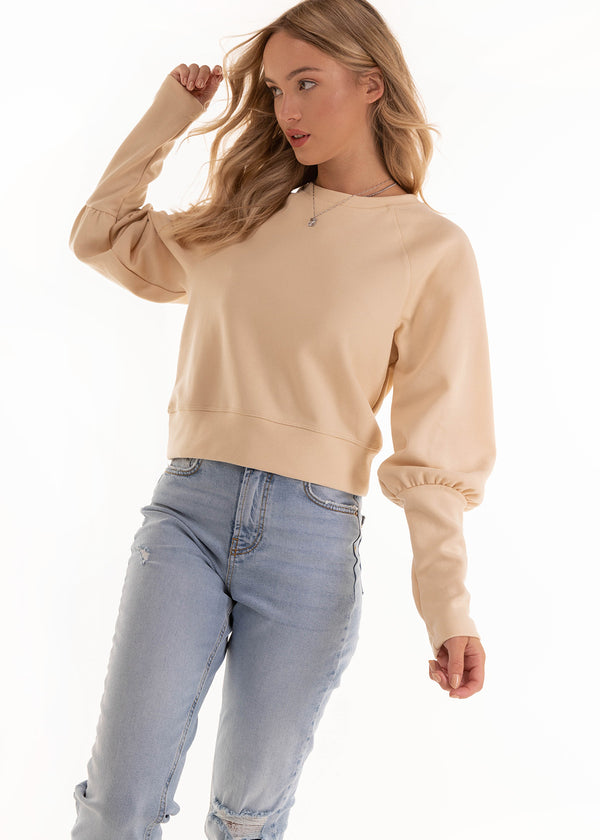 ROSAN SWEATER | BEIGE