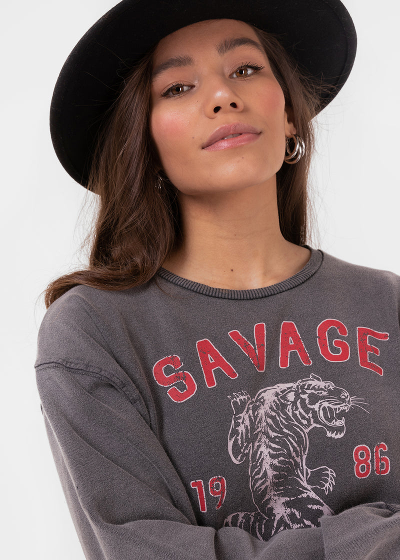 SAVAGE SWEATER | GREY