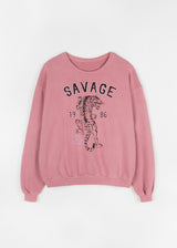 SAVAGE SWEATER | ROSE