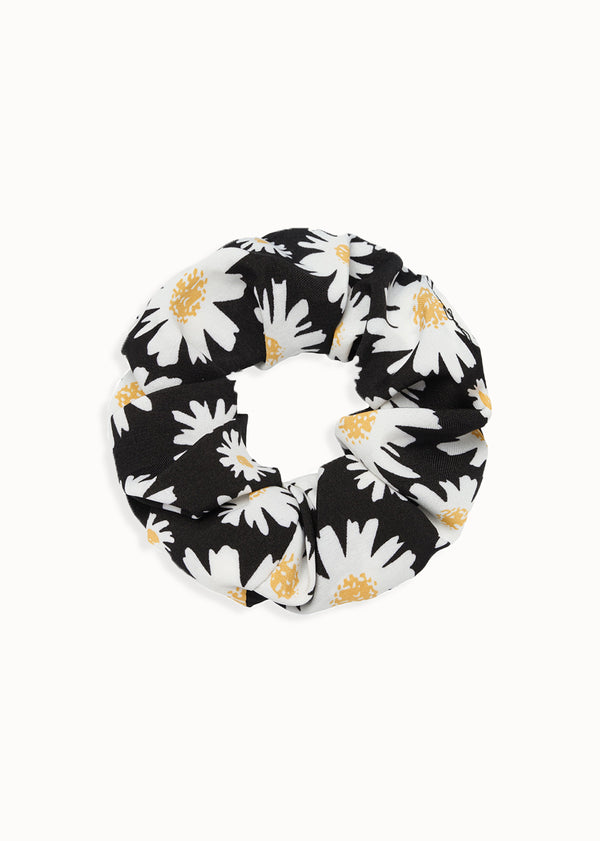 DAISY SCRUNCH | BLACK