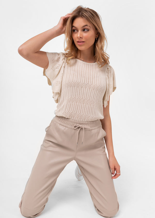 SOL KNIT | SAND